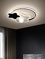 cheap -44/55 cm LED Ceiling Light Dimmable Light Round Design Simple Modern Star Lamp Bedroom Children's Room Ownerless Acrylic Popular Home Ceiling Lamp