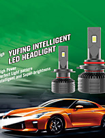 cheap -OTOLAMPARA Car LED Headlamps / Car Canbus Light H7 / H4 / H11 Light Bulbs 10000 lm Integrated LED 100 W 2 For Volkswagen / Toyota / Nissan Rogue / Silverado / CR-V 2018 / 2008 / 2009 2pcs