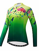 cheap -women long sleeve cycling jersey mtb shirts mountain bike tops bicycle clothing