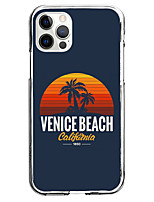 cheap -Coastal Case For Apple iPhone 12 iPhone 11 iPhone 12 Pro Max Unique Design Protective Case Pattern Back Cover TPU