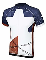 cheap -texas lone star men's cycling jersey 5xl - men's blue