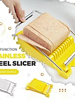 cheap -Cutter Slicer Manual Slicers Stainless Steel Lunch Meat Slicer Banana Fruit Cutter Egg Ham Vegetable Slicer Kitchen Gadgets Steel Wire Cutting Tools