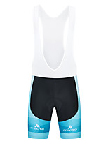 cheap -Miloto Men's Cycling Bib Shorts Spandex Bike Bib Shorts Padded Shorts / Chamois Bottoms Quick Dry Sports White / Black Mountain Bike MTB Road Bike Cycling Clothing Apparel Race Fit Bike Wear