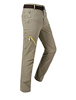 cheap -Women's Hiking Pants Trousers Patchwork Summer Outdoor Multi-Pockets Quick Dry Breathable Wear Resistance Pants / Trousers Violet Black Army Green Khaki Rose Red Hunting Fishing Climbing L XL XXL