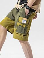 "cheap -Men's Hiking Shorts Summer Outdoor 12"" Regular Fit Breathable Soft Comfortable Wear Resistance Cotton Shorts Army Green Khaki Hunting Fishing Climbing M L XL XXL XXXL"