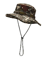 cheap -Men's Sun Hat Fishing Hat Hiking Hat Outdoor UV Sun Protection Windproof UPF50+ Quick Dry Spring Summer Hunting Ski / Snowboard Fishing Camouflage / Breathable