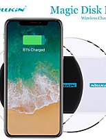 cheap -Nillkin Magic Disk II 5W Wireless Charging Pad Charger for iPhone 12 11 Xs Xs Max XR Wireless Charging Pad for Samsung Galaxy S21 S20 S10 + S10e Oneplus Xiaomi Quick Chaging Wireless Disk