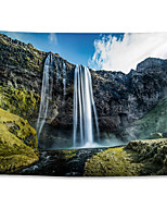 cheap -Wall Tapestry Art Decor Blanket Curtain Hanging Home Bedroom Living Room Grand Polyester Iceland Waterfall Landscape