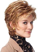 cheap -Synthetic Wig Curly Short Bob Wig Short Rose Gold Synthetic Hair Women's Cosplay Party Fashion Blonde