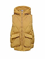 cheap -Women's Hiking Vest / Gilet Fishing Vest Military Tactical Vest Summer Outdoor Quick Dry Lightweight Breathable Sweat wicking Jacket Top Climbing Camping / Hiking / Caving Black Yellow Brick red