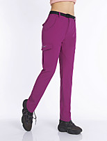 cheap -Women's Hiking Pants Trousers Summer Outdoor Quick Dry Breathable Sweat wicking Wear Resistance Bottoms Black Dark Navy Rose Red Hunting Fishing Climbing XS S M L XL