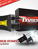 cheap -TXVSO8 Car HID Xenon Headlamps H10 / H9 / H7 Light Bulbs 5500 lm 55 W For universal All Models All years 2pcs