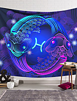 cheap -Wall Tapestry Art Decor Blanket Curtain Hanging Home Bedroom Living Room Decoration Polyester Fish