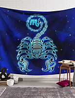 cheap -Wall Tapestry Art Decor Blanket Curtain Hanging Home Bedroom Living Room Decoration Polyester Scorpion