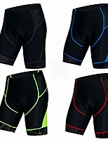 cheap -cycling shorts men bike shorts gel padded mtb bicycle shorts mountain road racing tights pants for male knicker summer riding cycle bottom clothing black l