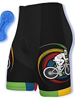cheap -21Grams Men's Cycling Shorts Spandex Bike Padded Shorts / Chamois Breathable Quick Dry Sports Black Mountain Bike MTB Road Bike Cycling Clothing Apparel Bike Wear / Athleisure