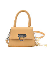 cheap -Women's Bags Top Handle Bag Date Office & Career Handbags White Black Yellow Khaki