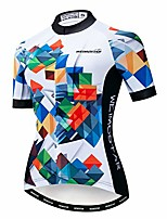 cheap -summer short sleeve cycling jersey women, mountain bike clothing riding bicycle shirts quick dry mtb jerseys