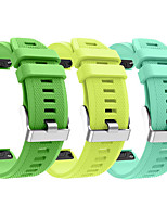 cheap -Smart Watch Band for Garmin 3 PCS Sport Band Silicone Replacement  Wrist Strap for Approach S60 Fenix 5 Fenix 5 Plus Garmin Quatix 5 Forerunner 945 22mm