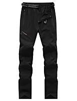 cheap -Women's Hiking Pants Trousers Solid Color Summer Outdoor Multi-Pockets Quick Dry Breathable Wear Resistance Spandex Pants / Trousers Black Rose Red Dark Blue Hunting Fishing Camping / Hiking / Caving