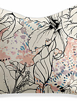 cheap -Double Side 1 Pc Floral Cushion Cover  Print 45x45cm Linen for Sofa Bedroom