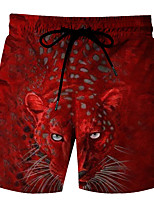 cheap -Men's Swim Shorts Swim Trunks Board Shorts Breathable Quick Dry Drawstring - Swimming Surfing Water Sports Summer