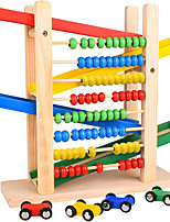 cheap -Wooden Toys Race Tracks for Boys  Abacus Perfect Montessori Toys for Toddlers 4 Years Waldorf Toys Autism Toys