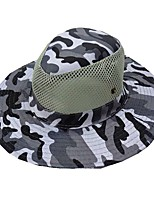 cheap -Men's Sun Hat Fishing Hat Hiking Hat Outdoor UV Sun Protection Windproof UPF50+ Quick Dry Spring Summer Hunting Ski / Snowboard Fishing White Army Green Grey / Breathable