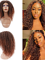 cheap -African Long Curly Hair Curl Natural Synthetic Wig High Temperature Fiber Heat Resistance Free Cap