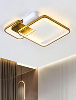cheap -55 cm LED Ceiling Light Circle Design Square Design Modern Flush Mount Light Metal LED Nordic Style 110-120V 220-240V