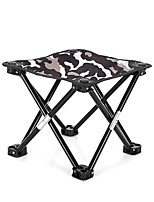 cheap -Camping Stool Portable Ultra Light (UL) Multifunctional Foldable Oxford for 1 person Fishing Beach Camping Traveling Autumn / Fall Winter White Black Red Army Green / Breathable / Comfortable