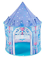 cheap -Play Tent & Tunnel Playhouse Teepee Castle Princess Foldable Convenient Polyester Gift Indoor Outdoor Party Favor Festival Fall Spring Summer 3 years+ Boys and Girls Pop Up Indoor/Outdoor Playhouse
