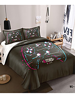 cheap -3-Piece Duvet Cover Set Hotel Bedding Sets Comforter Cover with Soft Lightweight Microfiber, Include 1 Duvet Cover, 2 Pillowcases for Double/Queen/King