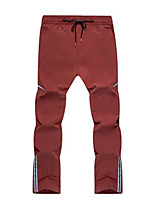 cheap -Men's Hiking Pants Trousers Patchwork Summer Outdoor Quick Dry Breathable Wear Resistance Zipper Pocket Pants / Trousers Dark Grey Black Burgundy Dark Navy Hunting Fishing Climbing S M L XL XXL