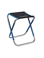 cheap -Camping Stool Portable Ultra Light (UL) Multifunctional Foldable Aluminum Alloy Oxford for 1 person Fishing Beach Camping Traveling Autumn / Fall Winter Camouflage Blue Gold Green / Breathable