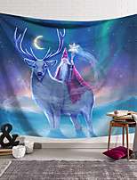 cheap -Wall Tapestry Art Decor Blanket Curtain Hanging Home Bedroom Living Room Decoration Polyester Santa Elk