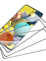 cheap -3PCS/5PCS Full Cover Screen Protector For Samsung Galaxy A52 A32 A71 Airbag Tempered Film For Galaxy A02S A42 S A90 A12 Tempered Glass Film