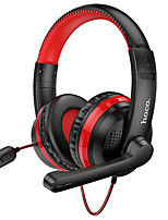 cheap -HOCO W103 Gaming Headset USB 3.5mm Audio Jack Stereo Dual Drivers with Microphone with Volume Control Sweatproof for Gaming PlayStation Xbox PS4 Switch