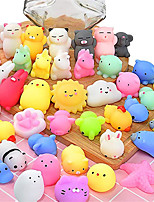 cheap -Squishy Squishies Squishy Toy Squeeze Toy / Sensory Toy 40 pcs Mini Animal Stress and Anxiety Relief Kawaii Mochi For Kid's Adults' Boys and Girls
