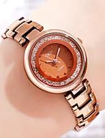 cheap -Women's Steel Band Watches Analog Quartz Stylish Minimalist Water Resistant / Waterproof Diamond
