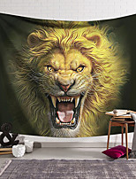 cheap -Wall Tapestry Art Decor Blanket Curtain Hanging Home Bedroom Living Room Lion Animal Psychedelic