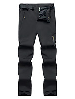 cheap -Men's Hiking Pants Trousers Patchwork Summer Outdoor Quick Dry Breathable Wear Resistance Zipper Pocket Pants / Trousers Black Army Green Grey Hunting Fishing Climbing M L XL XXL XXXL
