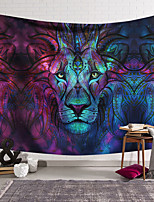 cheap -Wall Tapestry Art Decor Blanket Lion Curtain Hanging Home Bedroom Living Room Decoration and Animal and Fantasy