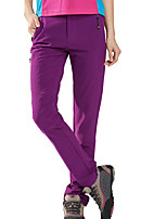 cheap -Women's Hiking Pants Trousers Solid Color Outdoor Regular Fit Quick Dry Breathable Sweat wicking Comfortable Pants / Trousers Black Purple Army Green Khaki Climbing Camping / Hiking / Caving Traveling