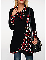 cheap -ebay amazon wish european and american foreign trade women's casual irregular single-row diagonal buckle plaid long-sleeved jacket