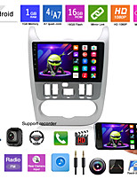 cheap -Car Dvd Mp5 Player Applicable To Models 09-13 For Renault Logan Android Navigation Android Gps All-in-one Machine
