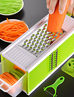 cheap -5 in 1 Set Grater Vegetable Multi-function Carrot Onion Potato Slicer Fruit Peeler Cutter Home Gadgets Kitchen Tools
