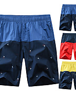 cheap -Men's Swim Shorts Swim Trunks Board Shorts Breathable Quick Dry Swimming Surfing Water Sports Patchwork Summer