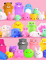 cheap -Squishy Squishies Squishy Toy Squeeze Toy / Sensory Toy 30-60 pcs Mini Animal Stress and Anxiety Relief Kawaii Mochi For Kid's Adults' Boys and Girls