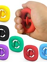 cheap -2 pcs Anti Stress Finger Hand Grip Stress Reliever Fidget Toy Adult Child Simple Dimple Stress Toys Decompression